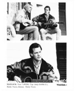 Matlock Andy Griffith Randy Travis  Press Publicity Photo TV Year 7 - $7.99