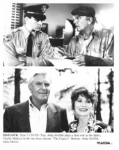 Matlock Andy Griffith Anita Morris The Legacy Press Publicity Photo TV Y... - $7.99