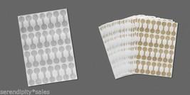 "SHARK SKIN Mylar Price Repair TAGS 1000 Blank WHITE 9//16/"" round~ Ring Size Label"
