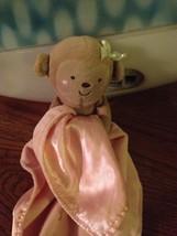 Carters Sweet Baby Girl Monkey Lovey Blanket Cupcake Child of Mine Rattl... - $24.75