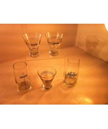 EL JIMADOR TEQUILA GLASSES X 5--MARGARITA--LIMITED EDITION--FREE SHIP--VGC - $35.96