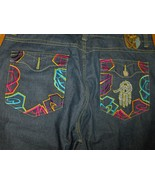 Miskeen Originals Jeans Shorts 44 Hip Hop Embro... - $34.97