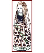 "Vintage Pattern for 18"" Island Girl Cloth Doll with Long Braided Hair - $5.99"