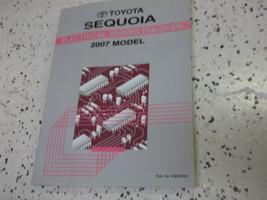 2007 Toyota Sequoia Electrical Wiring Diagram Service Shop Repair Manual EWD 07 - $19.70