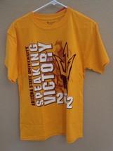 Nwt Arizona State University Sun Devils 2012 Relentless T Shirt Champion Size M - $10.88