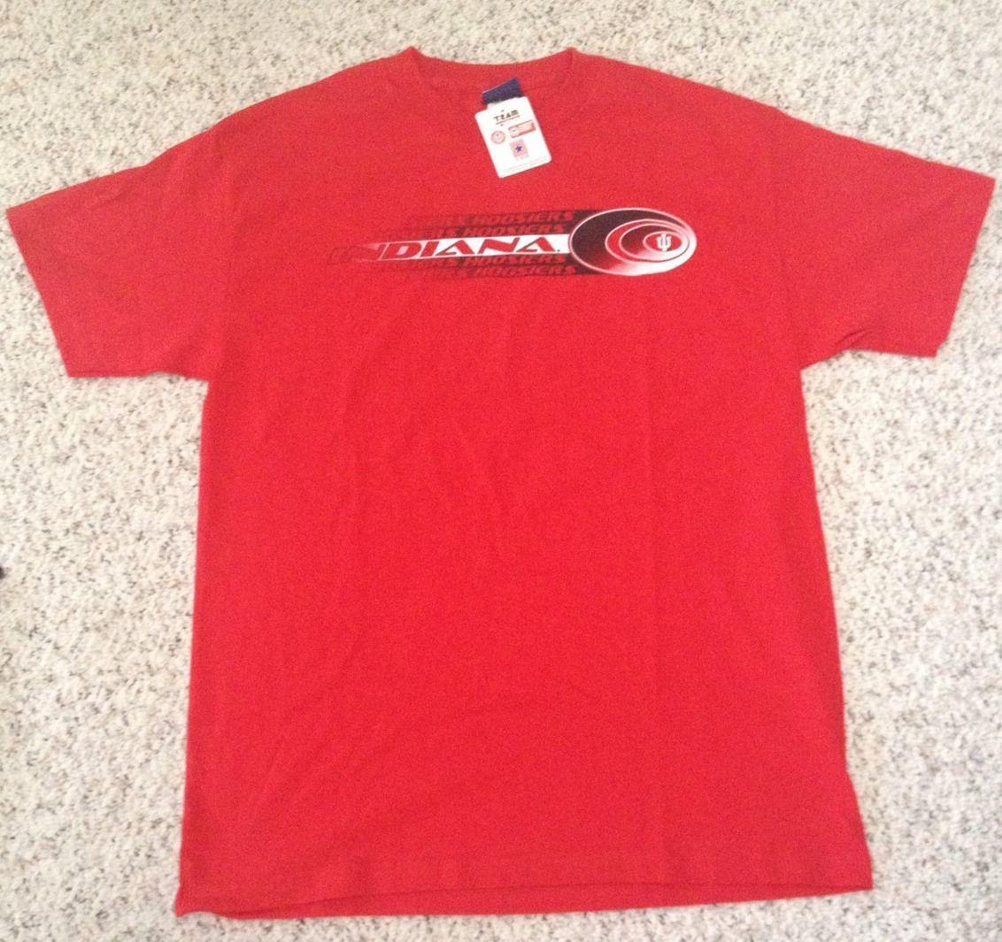 NEW - INDIANA UNIVERSITY Men's T-shirt - Hoosiers - Sz (M)