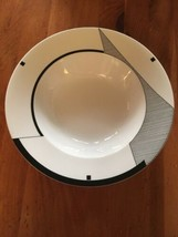 Mikasa Fine China Angles HK200 Serving Bowl Large GEOMETRIC Dish Christopher Stu - $43.55