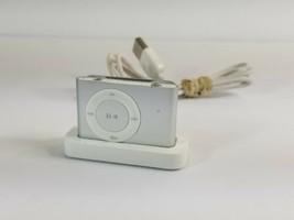 Apple ipod SHUFFLE   SILVER /2nd Generation/Model# A1204 EMC/ No.#2125  - $34.18