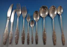 Diamant by A. Dragsted Danish Sterling Silver Flatware Set 117 Pcs Unique Modern - $13,995.00