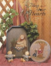 Bless Your Hearts Vol. 2 by Dianna Marcum Tole Painting Book Patterns - $6.99
