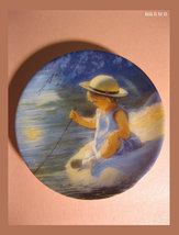 """MINIATURE COLLECTOR'S PLATE - """"One Summer Day"""" - by Donald Zolan - FREE ... - $25.00"""