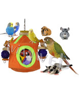 """Snooze & Play"" Bird Roosting Hut & Chew Toy Co... - $37.50 - $42.50"