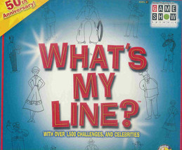 """What's My Line?""  What's My Line; 50th Anniversary Game - $20.00"