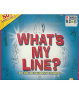 """What's My Line?""  What's My Line; 50th Anniversary Game - $21.90"