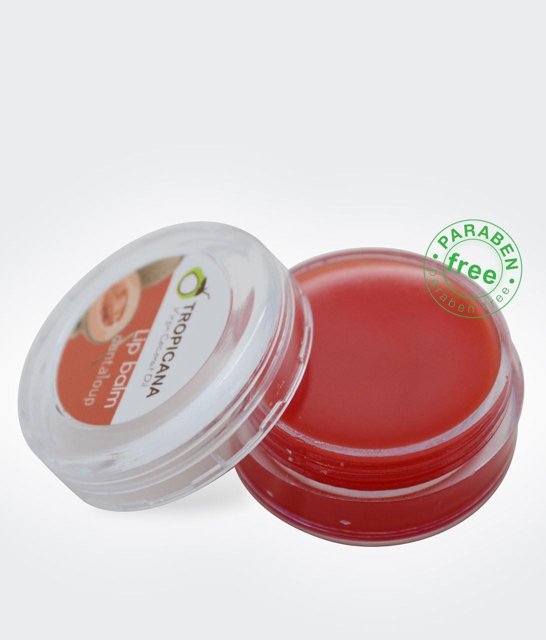 Thai Herbal At Home : Natural Herbal Virgin Coconut Oil Lip Balm 10 g.