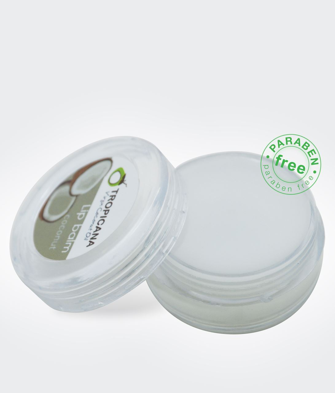 Thai Herbal At Home : Natural Herbal Virgin Coconut Oil Lip Balm 10 g.