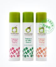 Thai Herbal At Home : Natural Herbal Virgin Coconut Oil Lip Balm Stick  - $10.99+