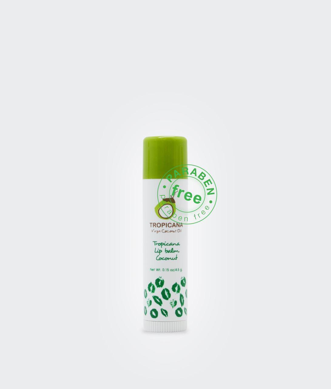 Thai Herbal At Home : Natural Herbal Virgin Coconut Oil Lip Balm Stick