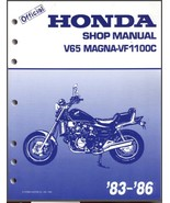 83-86 Honda V65 Magna 1100 VF1100C Service Repair Workshop Manual CD -- ... - $12.00