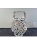 Franklin Mint - Treasury of Owls Collection -  Crystal piece - $49.00