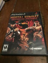 Mortal Kombat Shaolin Monks Sony PlayStation 2, 2005 PS2 Complete - Good - $18.37