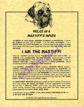 Rules In A Mastiff's House - $20.70
