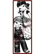 Vintage Pattern for Rag Dolls Designed to Teach - $5.99