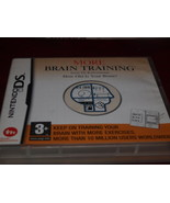 NINTENDO DS MORE BRAIN TRAINING GAME HOW OLD IS YOUR BRAIN ? 2007 - $9.89