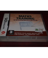 MATHS TRAINING NINTENDO DS GAME COMPLETE PROF. KAGEYAMAS 2008 - $9.89