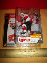 Hockey NHL Action Figure 2002 Jarome Iginla Calgary Flame National Sports Star - $18.99