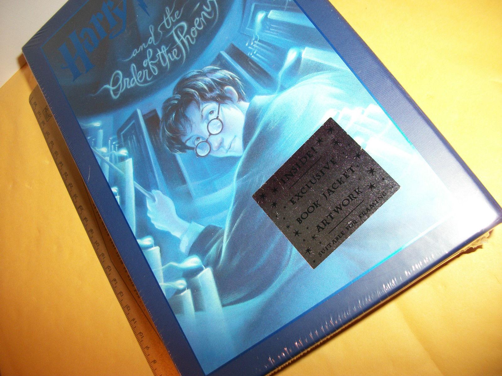 Harry Potter Kid Book Set Order of the Phoenix New Scholastic Art Jacket Artwork
