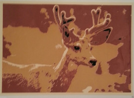 """The Deer"" Silkscreen Print of Photo - 2003 - $10.00"