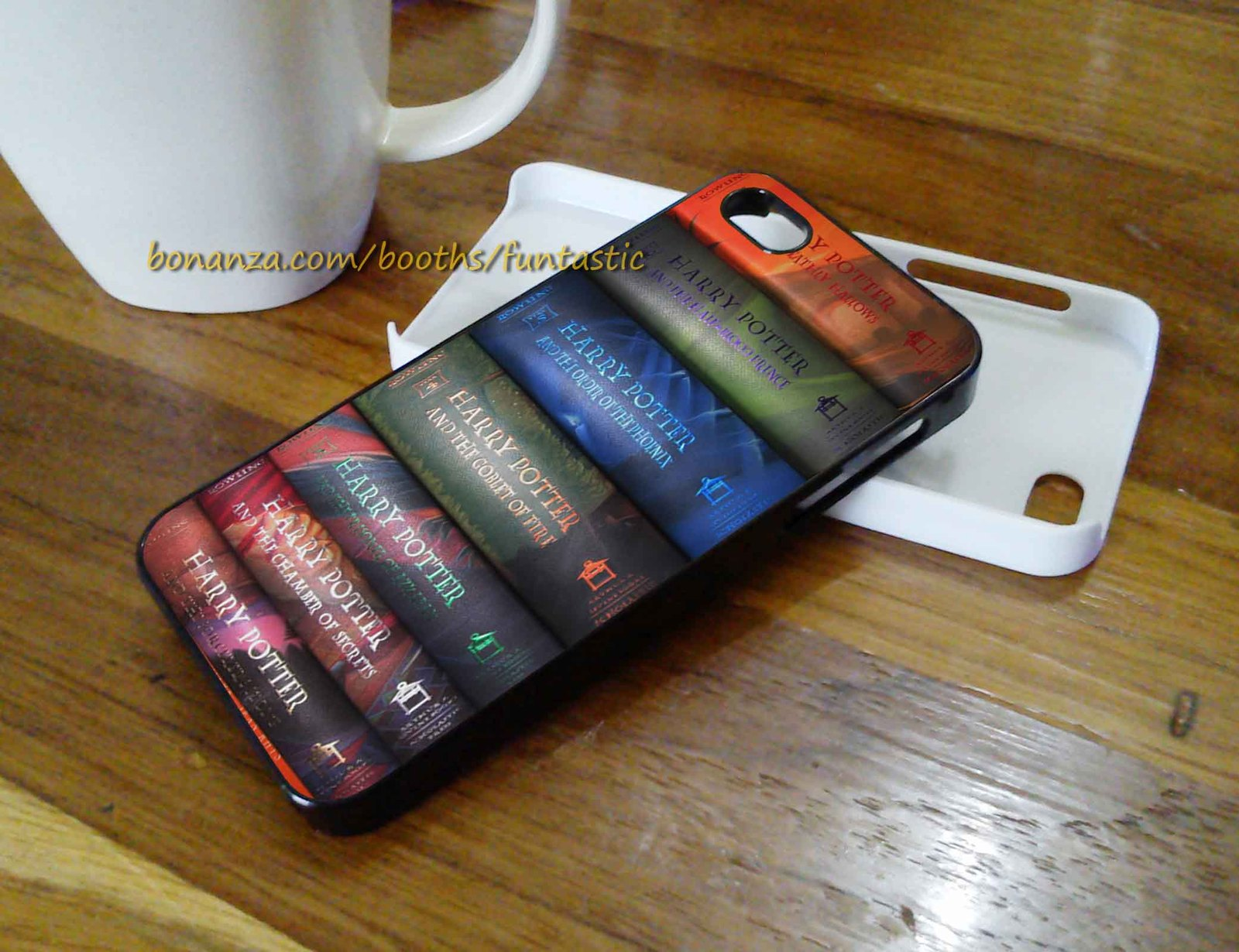 Harry Potter Book Cover Phone Case : Harry potter books phone case iphone c s