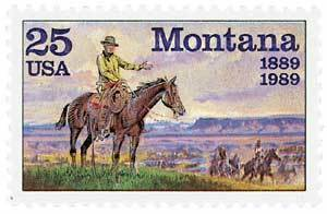 Primary image for 1988 25c Montana Statehood 100th Scott 2401 Mint F/VF NH