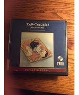7x9=Trouble Claudia Mills book on CD two discs Persistance Multiplicatio... - $9.95