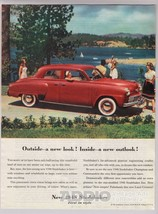 1948 Studebaker Champion Commander Classic Car Automobile Ad Page Vtg '40s - $9.74