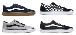 VANS WARD MENS LOW TOP SNEAKERS CASUAL SKATE STYLE SHOES NIB - $60.62+