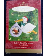 HALLMARK 2000 Baby's First Christmas Keepsake Ornament Photo Holder - $4.95