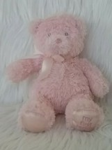 "Baby Gund My First Teddy Bear Pink Small 10"" Plush Ribbon #021028 Satin ... - $19.73"