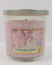 Yankee Candle Snowflake Cookie Candle 7 Oz Jar RARE - $16.19