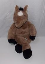 "Build a Bear Workshop Brown Horse Pony 18"" Plush Stuffed Animal Collecti... - $27.22"