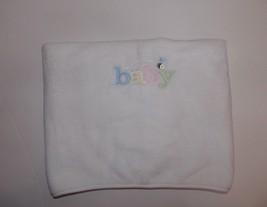 Carters White Plush Baby Blanket Lovey Bee Secu... - $39.19