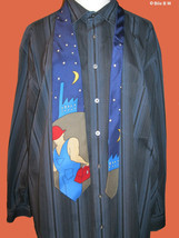 BEATLES 100% Silk Neck Tie - A HARD DAY'S NIGHT - FREE SHIPPING - $35.00