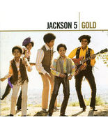 THE JACKSON 5  ( GOLD )  2 CD BOX SET - $7.98