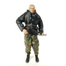 21st century toys 1 6 German Soldier With Mp40 Collapsable Stock Leather... - $25.00