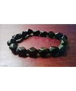 Genuine Black Onyx Gemstone Bracelet - $16.99