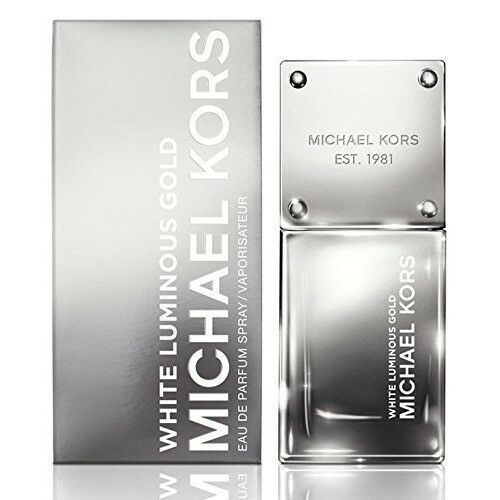 Primary image for Michael Kors White Luminous Gold EDP Spray 1.7oz New Sealed in Box $60 Value