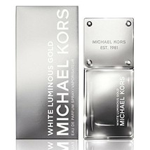 Michael Kors White Luminous Gold EDP Spray 1.7oz New Sealed in Box $60 V... - $24.31
