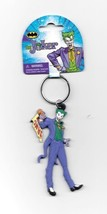 DC Comics Batman, The Joker Figural Soft Touch PVC Key Ring Keychain, NE... - $6.43