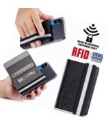 Card Holder For Back  Phone RFID Flip Wallet Cover Credit  Most All Smar... - $23.55